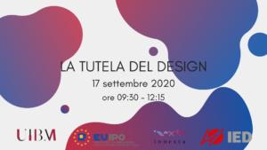 La tutela del design Protezione di marchi e design nell'ambito della creatività – webinar